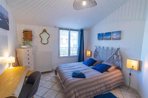 Chambre la Dune à La Closerie du Chêne Bleu, location de chambres d'hôtes près de Bordeaux