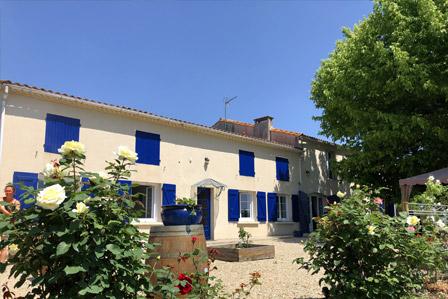La Closerie du Chêne Bleu, location de chambres d'hôtes près de Bordeaux